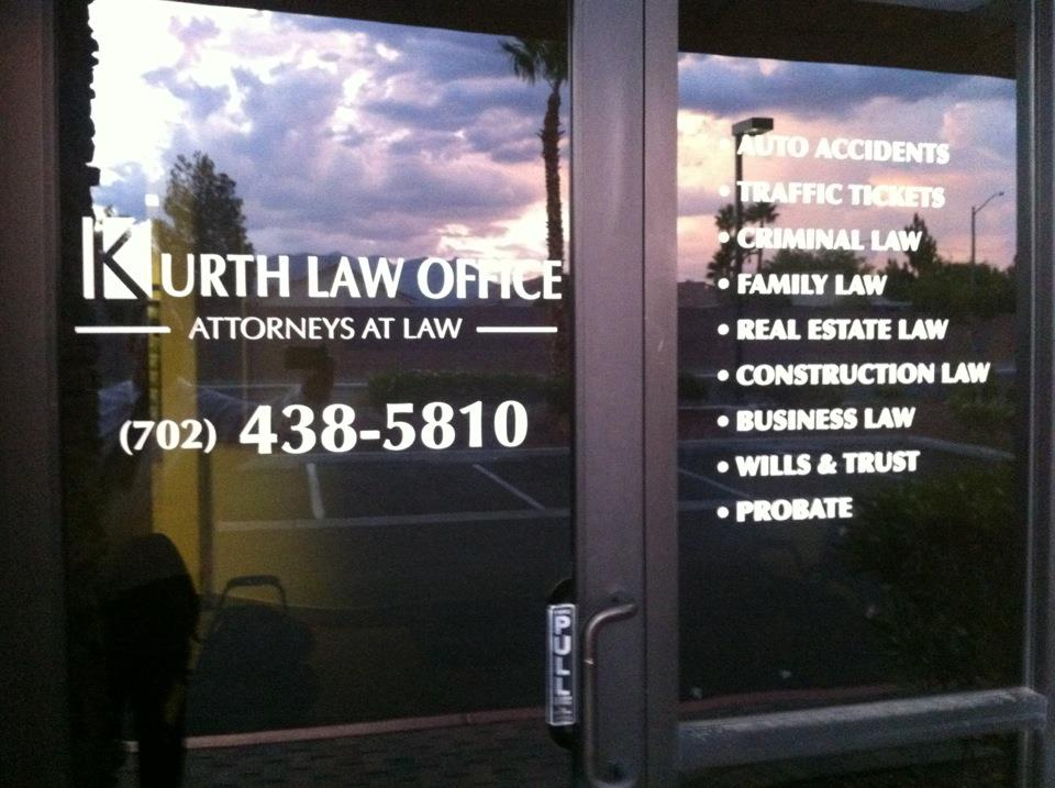 Kurth Law Office Door & Window 551634_504768259537364_1950705788_n